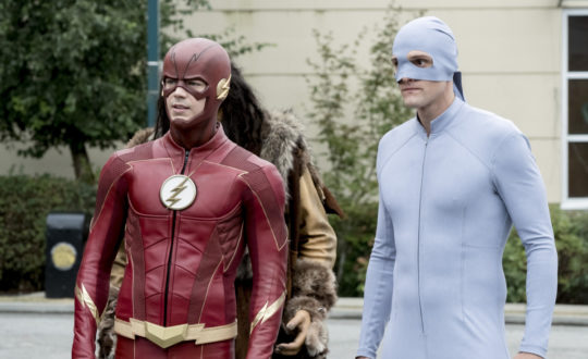 the flash and elongated man