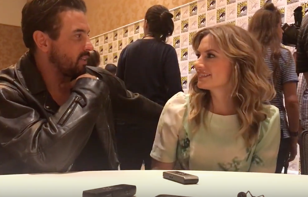 Photo of SDCC Exclusive: Skeet Ulrich and Mädchen Amick have good news for Falice shippers