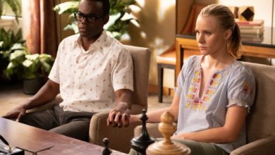 The Good Place 3x08 The Worst Possible Use of Free Will Cheleanor Eleanor Shellstrop Chidi Anagonye